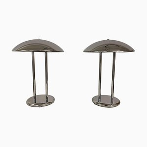 Scandinavian Space Ace Style Table Lamps from Ikea, 1980s, Set of 2