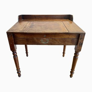 Antique Mahogany Campaign Desk