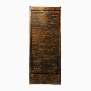 Antique Shutter Cabinet