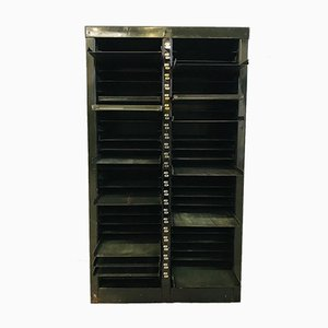 Green Printing Steel Cabinet with Shelves
