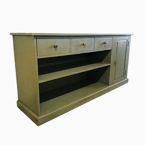 Grünes Sideboard aus Pinienholz