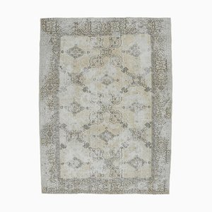 7x9 Antique Oriental Middle East Oushak Handmade Carpet