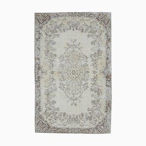 Antiker orientalischer orientalischer Oushak Orient Teppich, 6x10