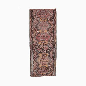 5x12 Vintage Turkish Oushak Handmade Wool Kilim Area Rug