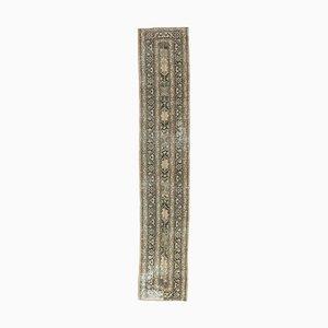 2x13 Vintage Turkish Oushak Handmade Wool Long Hallway Runner Rug