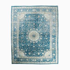 10x12 Vintage Oushak Handgeknüpfter Teppich aus Wolle in Übergröße