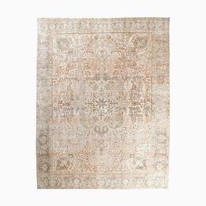 10x12 Vintage Middle East Heriz Oushak Handmade Wool Rug