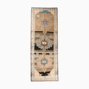 6x16 Vintage Turkish Oushak Handmade Wool Wide Runner Rug