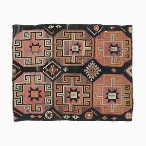 Tappeto Kilim 4x5 vintage fatto a mano, Turchia