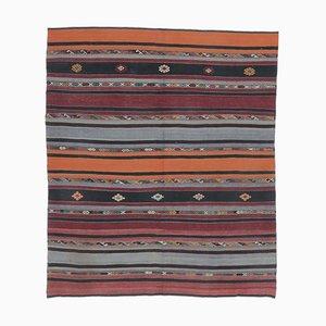Tappeto Kiliman Oushak vintage fatto a mano, lana, 6x7