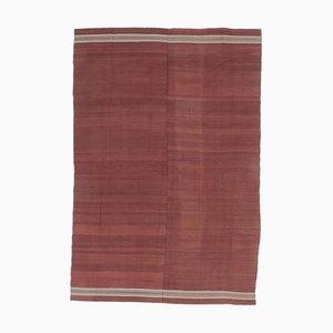 5x8 Vintage Turkish Oushak Handmade Wool Kilim Area Rug