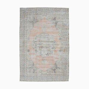 Tappeto Oushak antico Medio Oriente 8x12 con medaglione