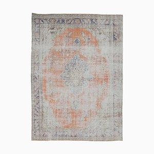 9x12 Antique Turkish Oushak Handmade Wool Carpet