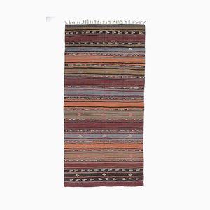 6x12 Vintage Turkish Oushak Handmade Wool Kilim Area Rug