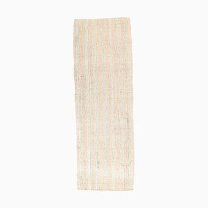 3x10 Vintage Türkisch Kilim Ouschak Handgewebter Flachgewebe Teppich aus Wolle
