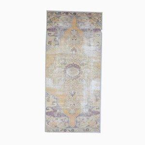 Tappeto 4x8 antico Medio Oriente fatto a mano di lana Oushak