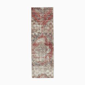 Antiker Türkischer Vintage Oushak Teppich aus Wolle