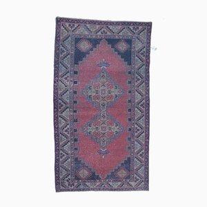 Türkischer Vintage Oushak Vintage von Orientteppich aus Wolle