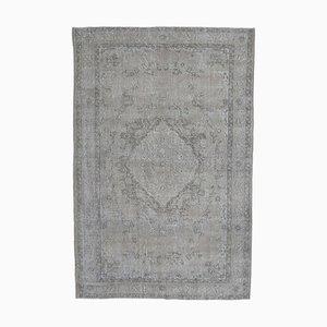 6x9 Vintage Turkish Oushak Handmade Wool Oriental Carpet