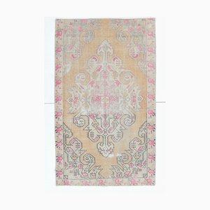 Orientalischer orientalischer Damast Handgewebter 4x7 Orient Damadow Teppich aus Wolle
