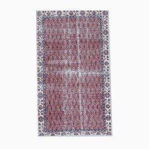 4x6 Vintage Turkish Oushak Handmade Wool Small Area Rug