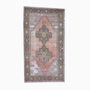 Türkischer Vintage Oushak Vintage von Oriental Teppich aus Wolle