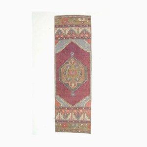 Antiker türkischer türkiser Oushak Teppich aus Wolle
