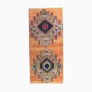 4x9 Vintage Turkish Oushak Doormat or Small Carpet