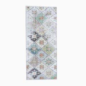 Handgeknüpfter türkischer Vintage Oushak Teppich aus Wolle, 3x6 Stk