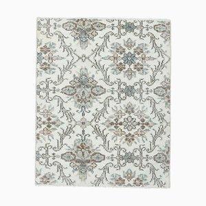 2x3 Türkise Vintage Oushak Badewanne Fußmatte oder Kleiner Teppich