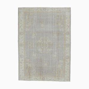 Tappeto Boho Decor antico fatto a mano in lana Oushak, 7x10