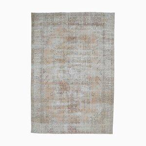 9x13 Antique Turkish Oushak Handmade Wool Boho Decor Carpet