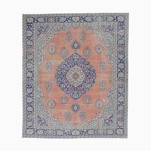 8x10 Vintage Middle East Oushak Handmade Wool Rug