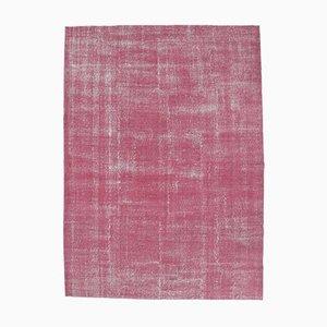 8x11 Vintage Turkish Modern Handmade Wool Carpet