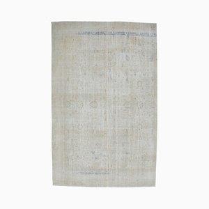 Tappeto Boho Decor antico fatto a mano in lana Oushak 8x13