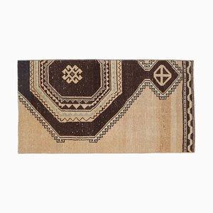 2x4 türkische Vintage Oushak Fußmatte oder Kleiner Teppich