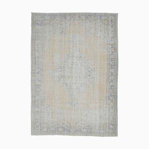 Tappeto Oushak antico Medio Oriente 8x11 con medaglione