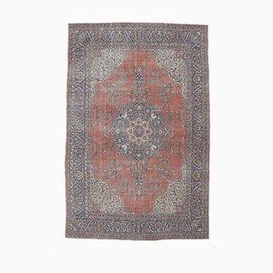 9x13 Vintage Middle East Heriz Oushak Handmade Wool Rug