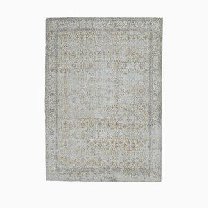 7x10 Vintage Turkish Oushak Distressed Oriental Carpet