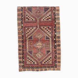 4x6 Vintage Turkish Oushak Small Carpet Handmade in Wool