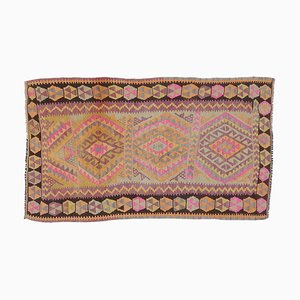 Türkische Vintage Oushak Fußmatte oder Kleiner Teppich, 3x4