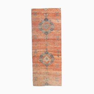 Türkischer Vintage Oushak Vintage 1111 Läufer Teppich