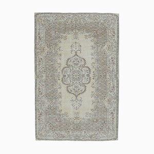 Handgeknüpfter antiker Orient orientalischer Oushak Orient Teppich
