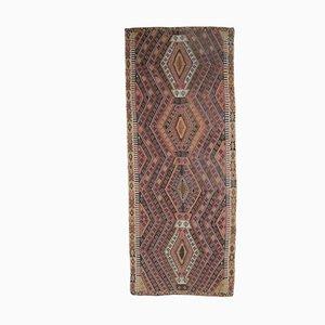 Tappeto Kilim Runner Ohoshak di lana fatto a mano, 6x15 cm