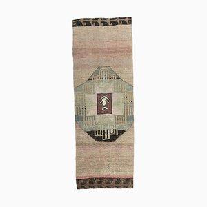 4x11 Antiker Türkischer Traditioneller Oushak Wollteppich