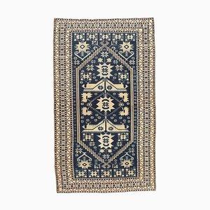 Türkischer Vintage Oushak Vintage Teppich aus Wolle mit 4 x 6 Oberflächen