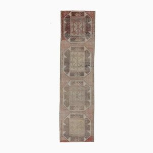 3x10 türkischer Vintage Oushak Purpur Wollteppich