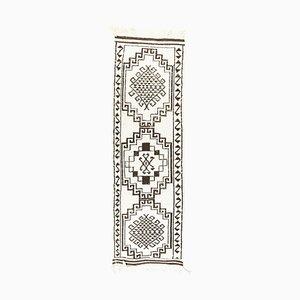 3x11 Vintage Turkish Oushak Handmade Wool Boho Runner Rug