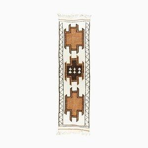 Tappeto Boho di Lanao Oushak vintage fatto a mano, Francia