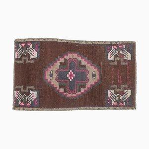 2x3 Vintage Turkish Oushak Mini Carpet